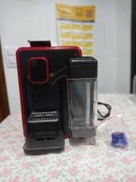 Máquina de café  (opção com leite)