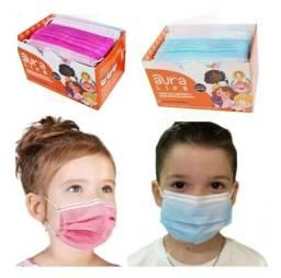 Máscara Tripla Proteção Descartável Infantil (Anvisa)