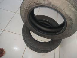 2 pneus aro 15 em bom estado 130 cada