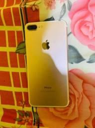 Iphone 7 plus pra vender logo