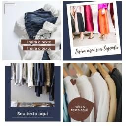 Templates de Canva para lojas - 50 feed + 10 stories