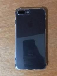 iPhone 7 Plus preto 256 Gb.