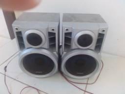 Caixa de som Panasonic par 6pol 1500 wats