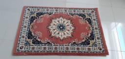 Tapete turco original , 60 centímetros por 90 centímetros de cumprimento.