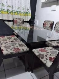 vendo mesa 06 cadeiras