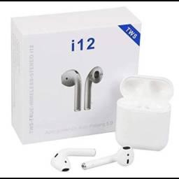 Fone de ouvido inpods Airpods TWS I12 sem fio