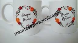 Canecas porcelana personalizada R$25