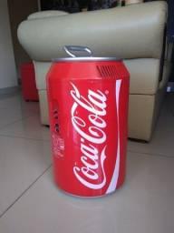 Mini Refrigerador Coca Cola (Também tem função aquecedor)