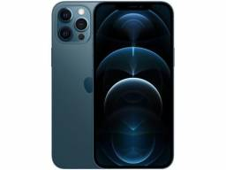iPhone 12 Pro Max Apple 128GB-Azul-Pacífico 6,7? Câm. Tripla 12MP iOS<br><br>