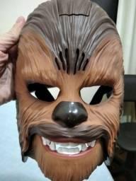 Máscara Chewbacca de Star Wars com som do personagem