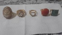 Vendo anéis (semijoais)