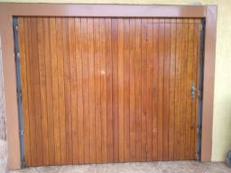 Portão usado de madeira ipê
