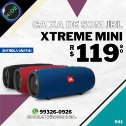 Caixa de Som Bluetooth JBL Xtreme Mini (entrega grátis)