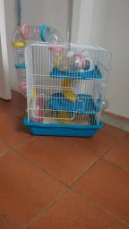 Gaiola para Hamster 3 andares completa