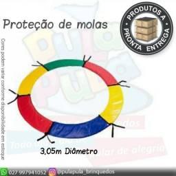 Venda de protetores de molas e rede de proteção para sua cama elástica