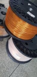 Fio de cobre esmaltado 4 AWG - 180C