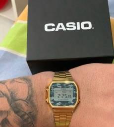 Relógio Casio camuflado