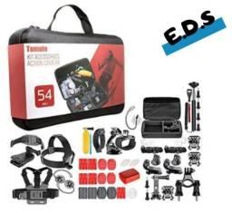 Título do anúncio: Kit 54 Acessórios Câmeras Ação Gopro 7 Black Hero+ 6 5 3
