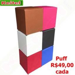 Título do anúncio: Puff Corino 49,00 cada - consulte cores.