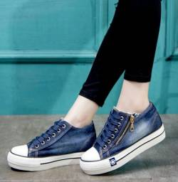SAPATENIS ALL CHIQUE STAR JEANS