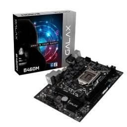 Placa Mae AM4 Galax B450m M.2 AMD Bios Atualizada,mATX, (lacrado),Nf e garantia,Ryzen