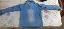 Camisa infantil jeans em ótimo estado