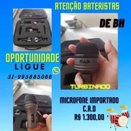 Microfones Profissionais CAD para bateria