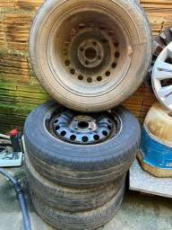 Rodas com pneus aro 14