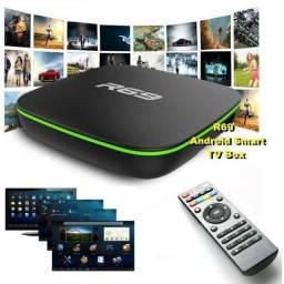 TV BOX R69 SmartTV, 16GB RAM, 8K, 128GB MEMORIA INTERNA, novo, original