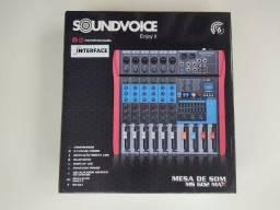 Título do anúncio: Mesa de Som Soundvoice, Modelo MS 602 MAX