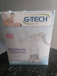 Bomba manual de tirar leite materno