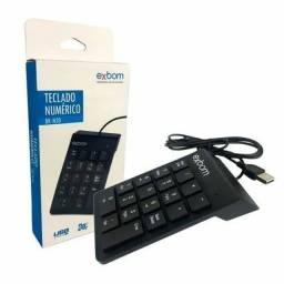 Teclado Numérico USB 18 Teclas BK-N30