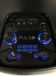 Caixa de Som C/ Garantia de 03 anos-Multilaser- Pulsebox 1000w- (Lojas Wiki)