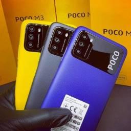 Xiaomi POCO M3 128GB + Película + Capinha LACRADO Entrega Grátis
