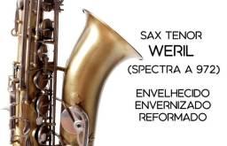 Sax Tenor Weril Spectra I - Envelhecido