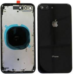 Carcaça iPhone 8 8 plus xs Max xr 11 Pro Max Tampa Traseira Completa Chassi