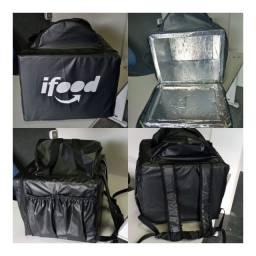 Bolsão de entrega para motoboy novas impermeavel com isopor laminado 130,00