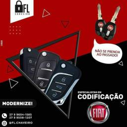 Chave Canivete Fiat