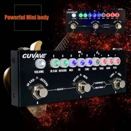 Cuvave CUBE BABY  pedal combinado de guitarra, gravação, função de interface de áudio