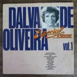 LP Disco De Vinil - Dalva De Oliveira - Especial 15 Sucessos Vol. 1