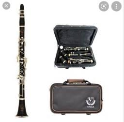 Clarinete Eagle - Instrumento de Sopro.