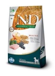 Racão N&D Ancestral - Super premium natural.