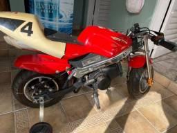 Moto criança gasolina 50cc