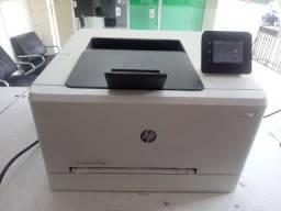 Impressora colorida hp m254 com cartuchos compatível novos