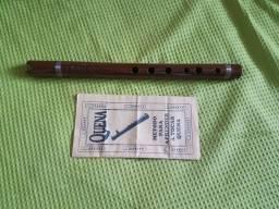Flauta Artesanal Peruana Com Manual. Melhor Custo Benefício!