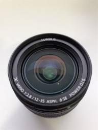 Lente Panasonic Lumix 12-35mm Lens G X Varioii, F2.8 Asph,dual I.s