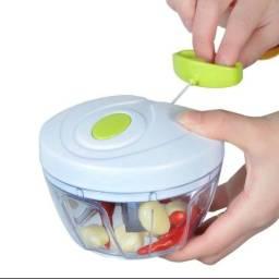 Mini processador manual de alimentos - cortador
