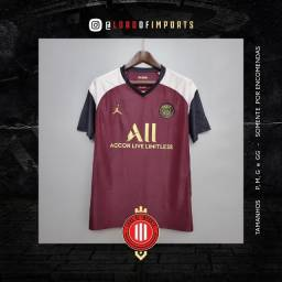 Camisa De Futebol PSG 3 - 2020 / 2021 - Pronta entrega