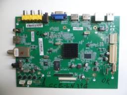 placa principal tv cce ln39g gt-1326ex-e39 leia o anuncio