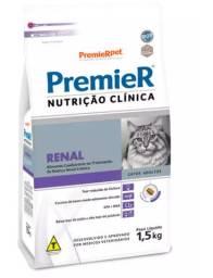 Premier Renal Ração Nutrição Clínica para Gatos Adultos - 1,5Kg